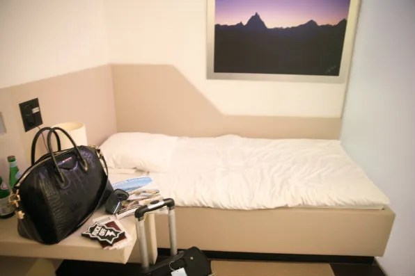 Swiss First Class Lounge day room