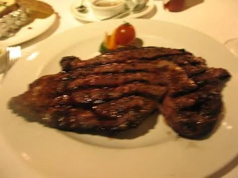 Elbert's Steak Room, Super Prime Ribeye