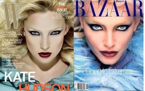 Kate Hudson, W Magazine September 2008, Nadja Auermann Harper's Bazaar 1994