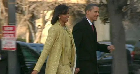 Michelle Obama's Inauguration Dress by Isabel Toledo