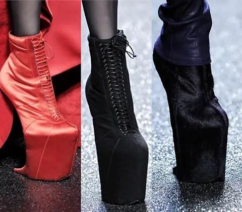 Nina Ricci Fall Winter 2009 2010 shoes