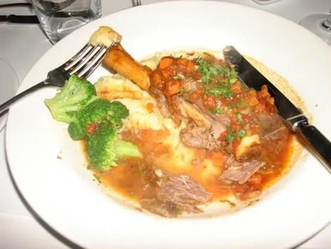 Sala Bistro, Lamb Shank