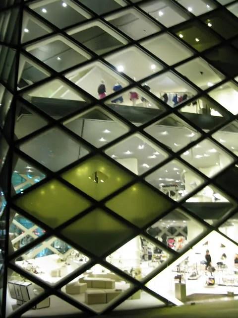 Prada Building in Omotesando Miniaoyama, Tokyo