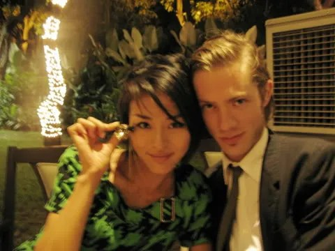 Martin & Yoshiko Kris-Webb at Zuni Restaurant, Greenbelt 5 Makati