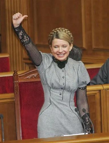 Yulia Tymoshenko, Ukraine Prime Minister
