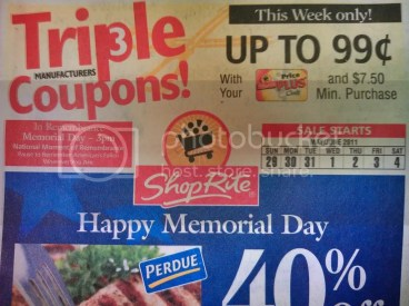 ShopRite Triple Coupons