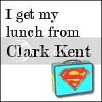 Clark Kent's Lunchbox Badge