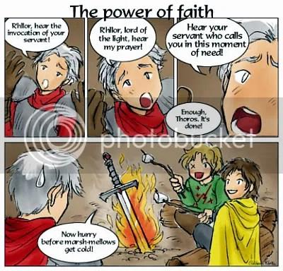 A Feast for Crows IX - The power of Faith