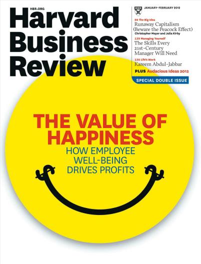 Harvard Business Review cover Jan 2012