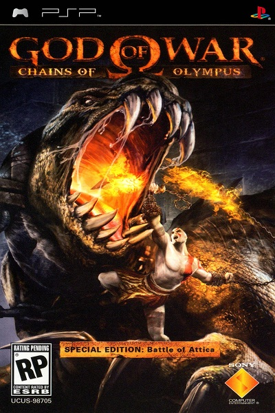 God of War Chains of Olympus (2008) EUR PSN PSP-PLAYASiA
