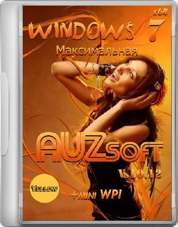 Windows 7 Максимальная AUZsoft Yellow+miniWPI x64 10.12 (2012/RUS)