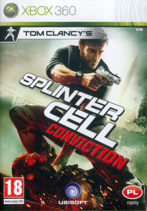 Tom Clancy's Splinter Cell: Conviction (2010) PAL.PL.XBOX360-SKAZA / WERSJA PL