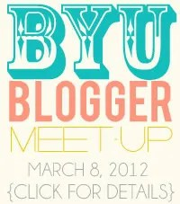 BYU blogger meetup