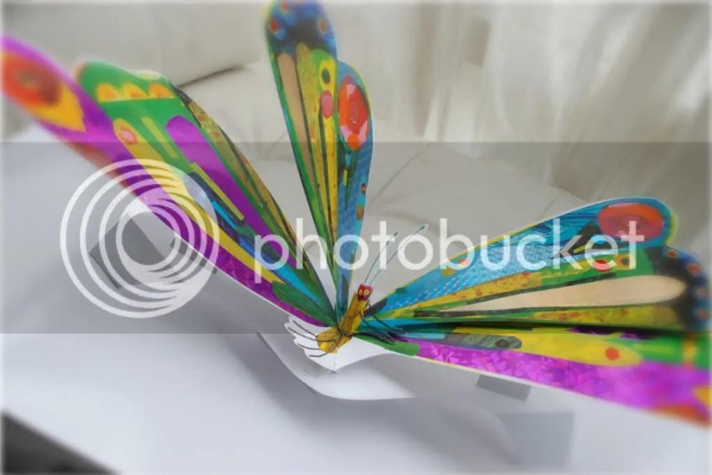 En vidunderlig sommerfugl.