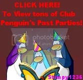 Click Here for OVER 300 Pictures of Club Penguin's Past Parties (With No Penguins in the Way!)