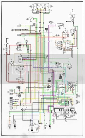 ducatipaso • View topic  Wiring Upgrade Schematic in