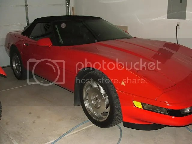 1994 C4 Torch Red ragtop