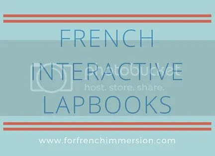 French Lapbooks - interactive actitivities for notebooks and lapbooks