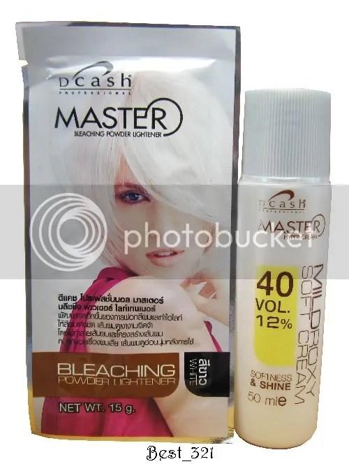 White Hair Dye Kit