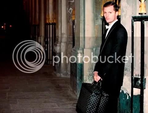 Nicholas Duvauchelle Louis Vuitton Damier Graphite Grimaud