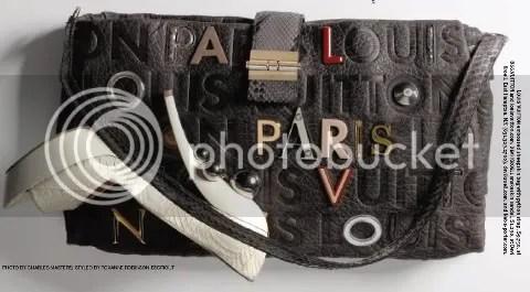 WWD Accessories: Monogram Collage Lutece