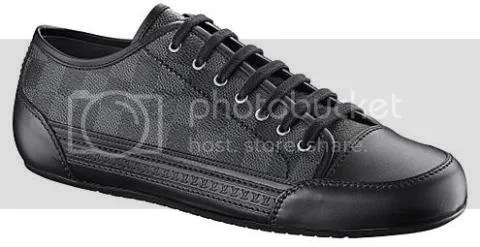 Louis Vuitton Damier Graphite Sneakers