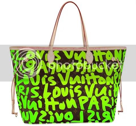 Louis Vuitton Monogram Graffiti Neverfull GM