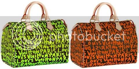 Louis Vuitton Monogram Graffiti Speedy 30