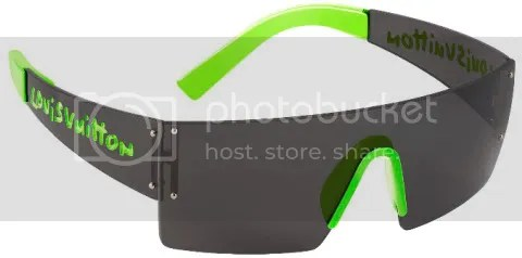 Louis Vuitton Graffiti Sunglasses