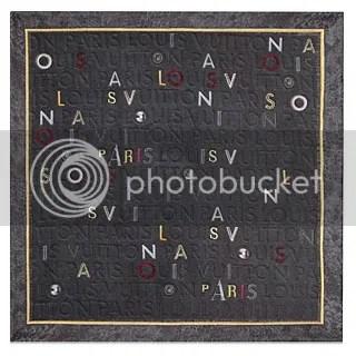 Louis Vuitton Monogram Collage Square