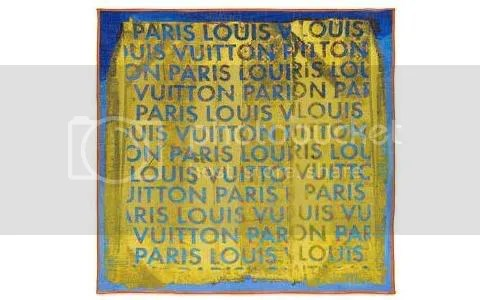 Louis Vuitton Monogram Pulp Bandana