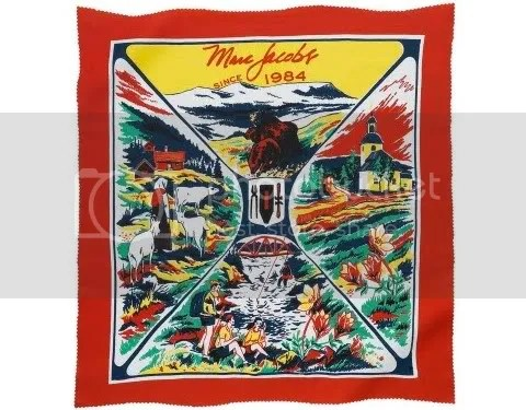 Marc Jacobs Mountain Bandana