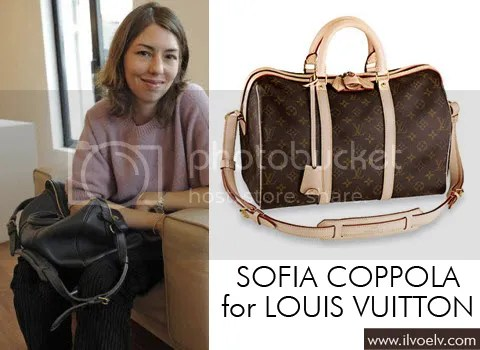 Update: Sofia Coppola for Louis Vuitton