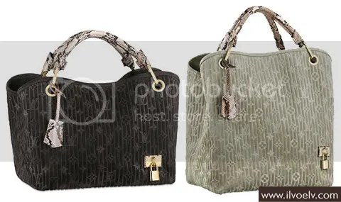 Louis Vuitton Monogram Suede Embossed Whisper