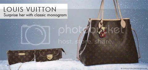 eLuxury: Louis Vuitton Classic Monogram for the Holidays