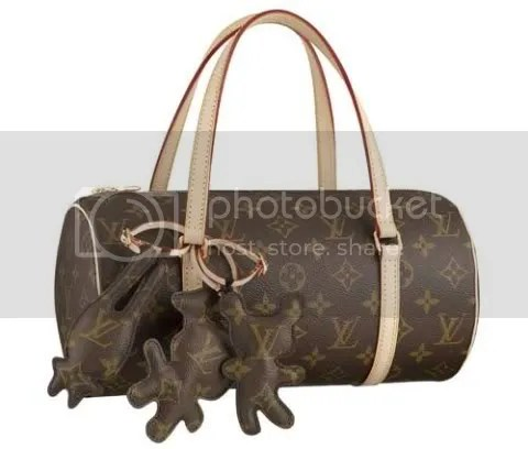 Louis Vuitton and Comme des Garcons Papillon with Animal Charms