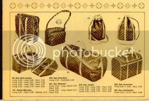 Vintage Louis Vuitton Catalog Part 1