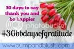 #30bbdaysofgratitude challenge thank you