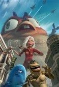 Monsters vs Aliens - Dreamworks