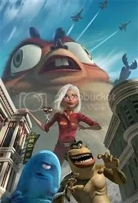Monster vs Aliens 3D Movie by Dreamworks