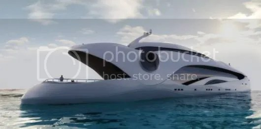 Oculus is A Very Unusual and Unique Yacht