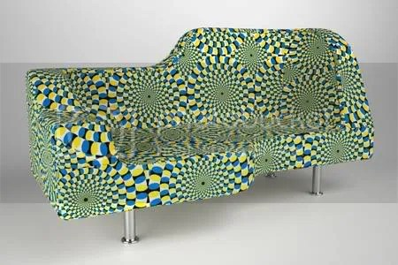 Hypnose Sofa that could make you Feel Dizzy