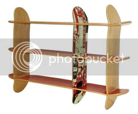 Creative Skateboard Made Furniture