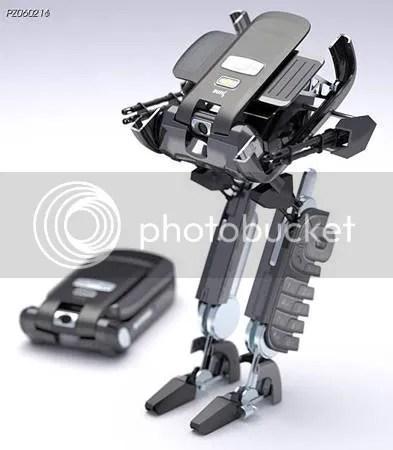 Cellphone Transforms Into a Deadly Robot