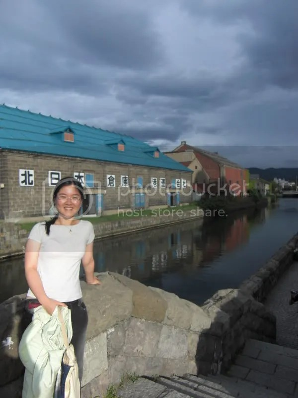 Otaru canal~no smell unlike our stinky Singapore river!