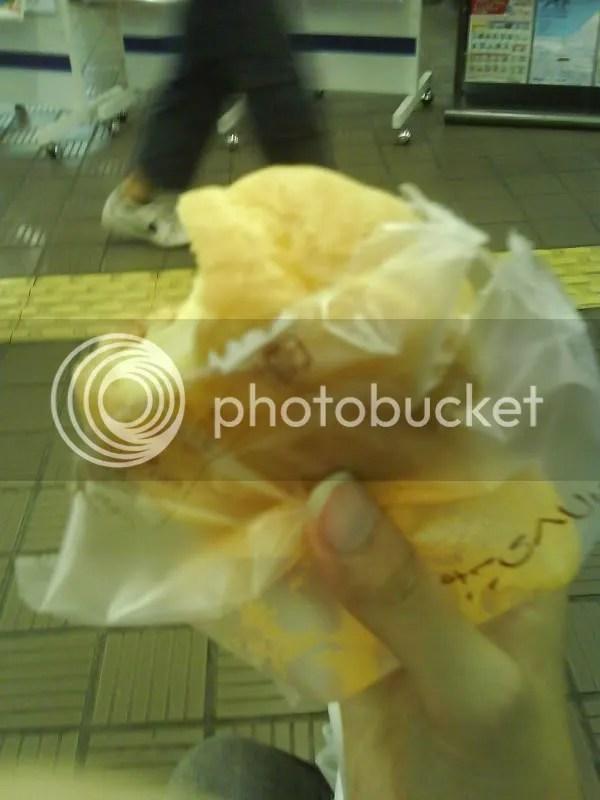 Milk cream puff from Asahikawa~~~ Almost like ice cream~~~