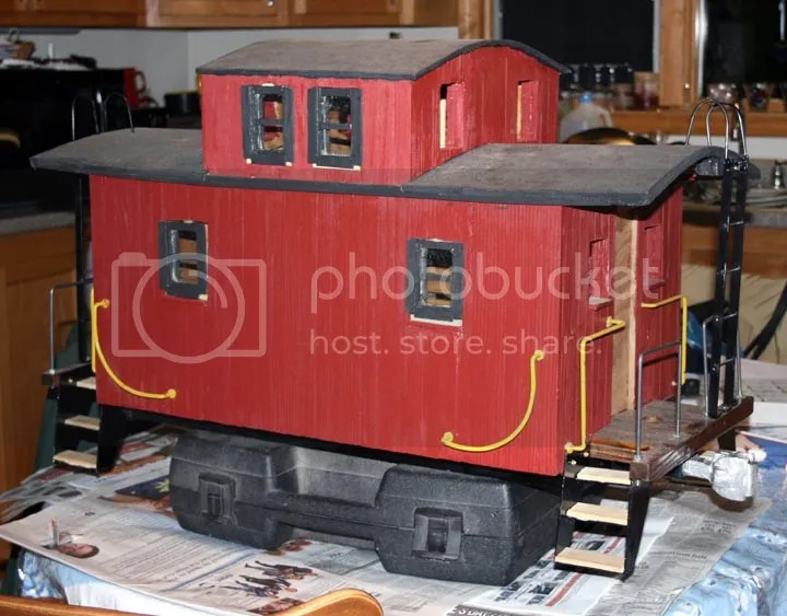 Caboose 2 Is Slightly Behind It Has Been Difficult To Work In My Most Of This Winter Due Cold And Aching Fingers Still Once I Got The Furnace
