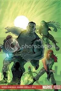capa de World War Hulk: Gamma Corps 1, no Neorama dos Quadrinhos