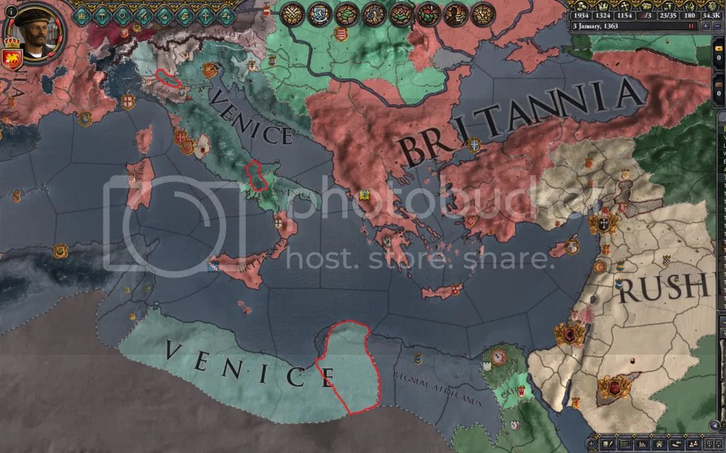 Central Med, 1363