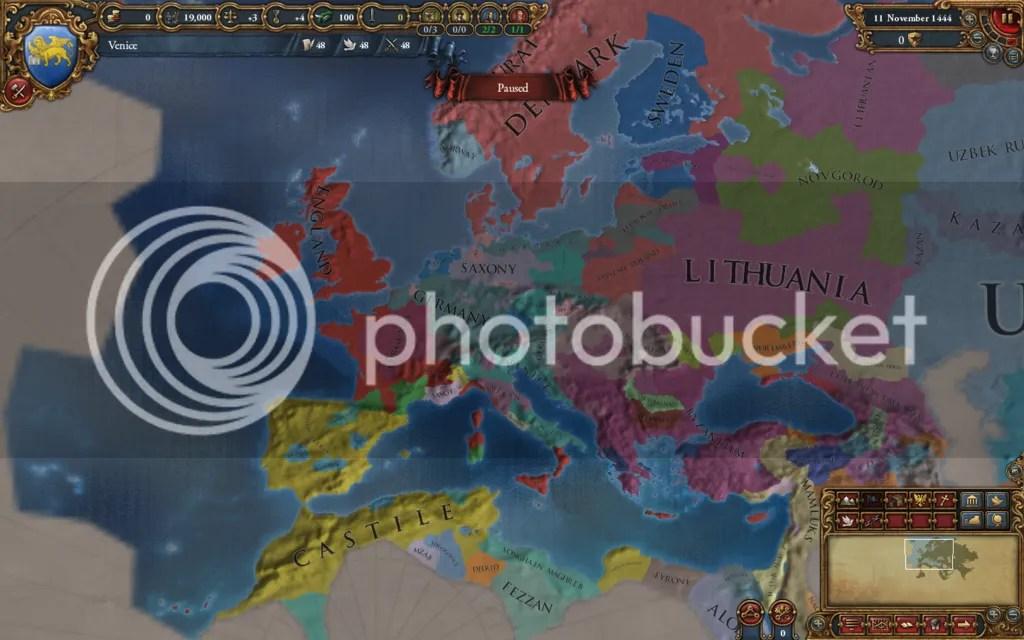 Europe 1444